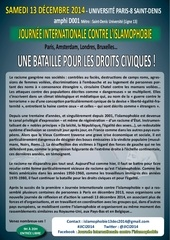 programme conference islamophobie 2014