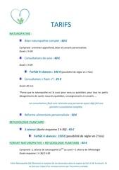 tarifs 2014 a5