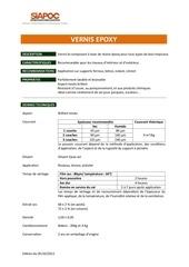 Fichier PDF vernis epoxy