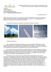 chemtrails lettre dossier aux deputes senateurs pdf