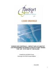 chemtrails rapport case orange belfort group francais pdf