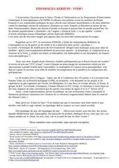 petition epandages aeriens stop