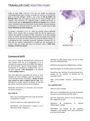 Fichier PDF offre emploi commercial chez adastra films