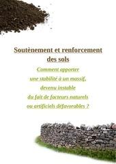 soutenement et renforcement des sols