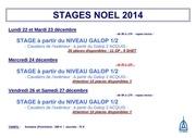 stages noel 2014