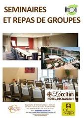 brochure seminaires et repas groupes 2015