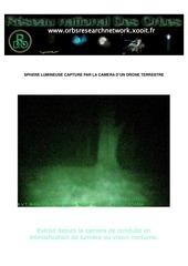 drone terrestre et paranormal