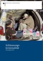schleusungskriminalit t 2013