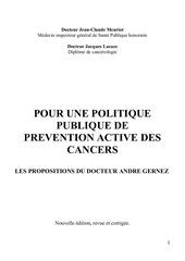 dr gernez prevention active des cancers