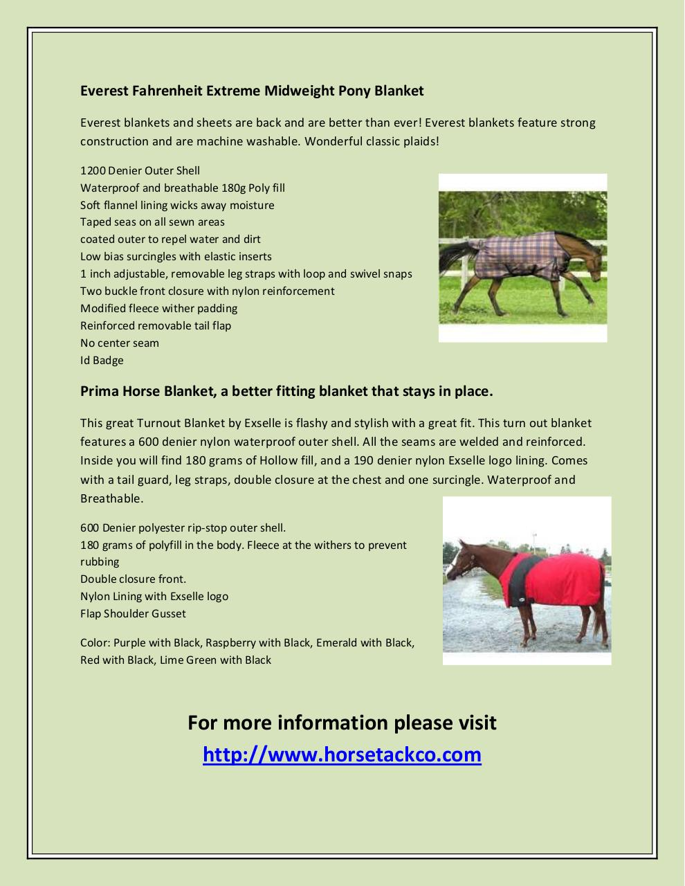 Horse Blankets.pdf - page 2/2