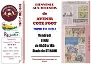 tournoi u11 d avenir cote foot2015
