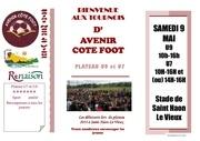 Fichier PDF tournoi u9 d avenir cote foot 2015