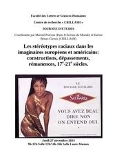affiche stereotypes raciaux