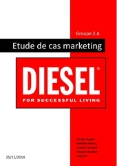 fondamentaux marketing cas diesel