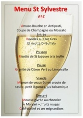 menu nouvel an