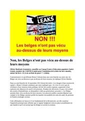 Fichier PDF non les belges n ont pas vecus au dessus de leur moyens
