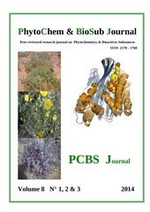 phytochem biosub journal vol 8 n 1 2014