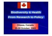 rasoanaivo biodiversity health