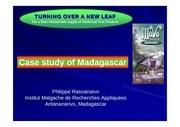 rasoanaivo case study of madagascar