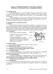chapitre 1 generalites sur la thermodynamique