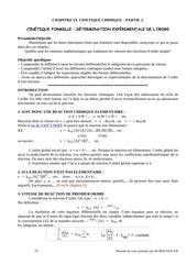 chapitre 6 cinetique chimie part 2