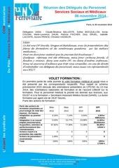 cr dp services sociaux medicaux du 6 nov 2014