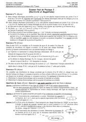 examen phys2 08 09