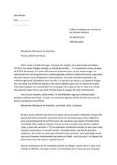 lettre au gouvernement 1