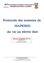 protocole dan hapkido cnh