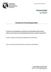 Fichier PDF 2711 cp fermeture ecole spatient