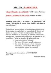 Fichier PDF atelier douleur 2