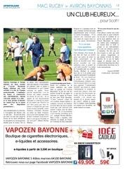 sportsland pays basque 9 aviron bayonnais