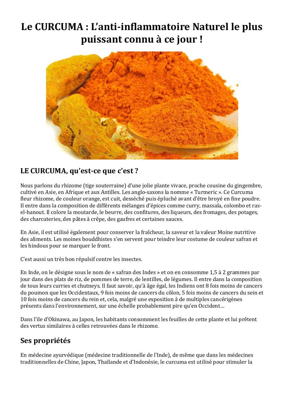 anti inflammatoire pdf
