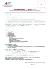 Fichier PDF bulletin d adhesion 2015 association actset