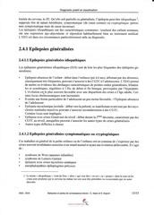 epilepsie et pertes de connaissance breves 15