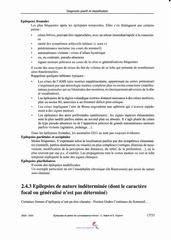 epilepsie et pertes de connaissance breves 17