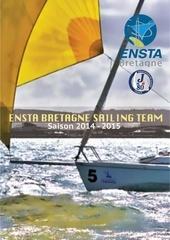plaquette ensta bretagne sailing team