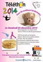 ecureuils telethon2014