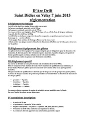 Fichier PDF reglement d arc drift 2015