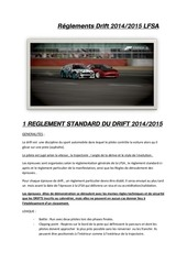 reglement lfsa drift2014 2015