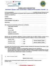 5 formulaire inscription
