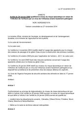 arrete du 24 janvier 2008 version consolidee appelants