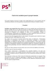 Fichier PDF chartesocialiste