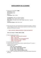 Fichier PDF deroulement de la journee