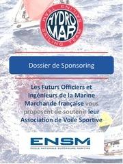 dossier de sponsoring hydro mar sailing team