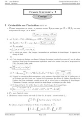 corrige electromagnetisme ellingham