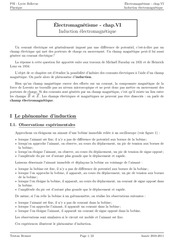 cours induction