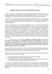 lettre a la communaute educative 03 12 14