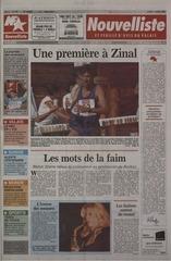 nouvelliste 11 8 1997