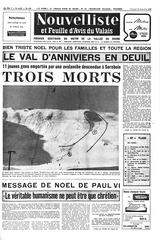 nouvelliste 26 12 1969